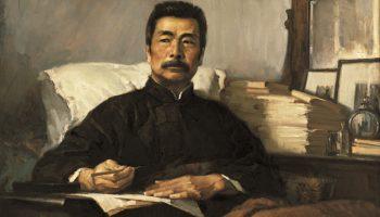 Exhibition sheds light on painter of Lu Xun portrait